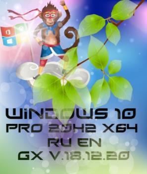 Обновленная Windows 10 PRO 20H2 19042.685 [GX v.18.12.20]