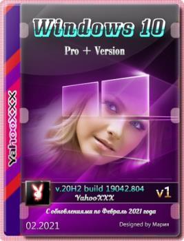 Windows 10 Pro+ Version 20H2 Ru x64 [02.2021]