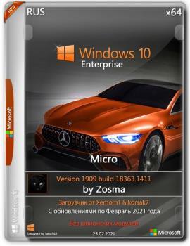 Windows 10 Enterprise x64 micro 1909.18363.1411 by Zosma