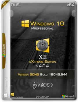Windows 10 Professionalx64 XE v.4.2.4 by c400's с программами