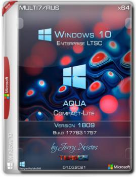 Windows 10 Enterprise LTSC x64 Aqua Compact-Lite by Jerry_Xristos Мультиязычная
