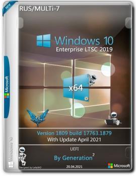 Windows 10 Enterprise LTSC x64 17763.1879 April 2021 by Generation2