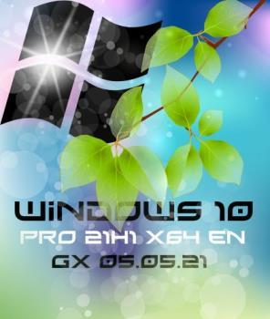Windows 10 PRO 21H1 x64 EN [GX 05.05.21]