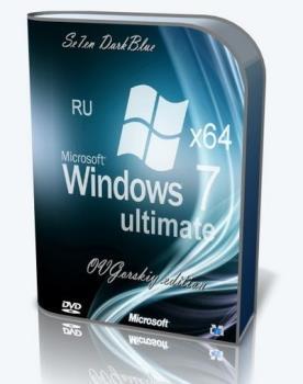 Windows 7 Ultimate Ru x64 SP1 7DB by OVGorskiy Май 2021 1DVD