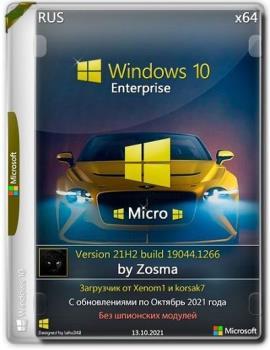Windows 10 Enterprise x64 Micro 21H2.19044.1266 by Zosma