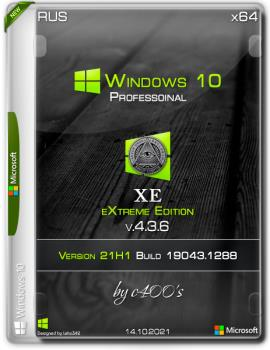 Windows 10 Professional (x64) XE v.4.3.6 by c400's